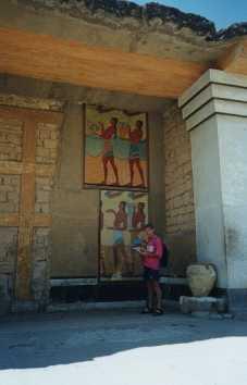 Il palazzo di cnosso for Disegni del portico laterale