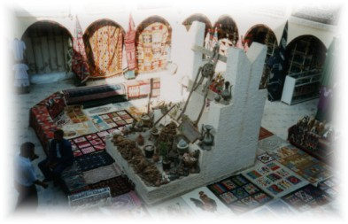 I viaggi di monica lorenzo djerba e la tunisia meridionale for Piccole case quadrate